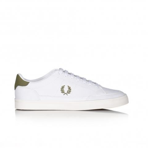 DEPORTIVO FRED PERRY DEUDE LEATHER WHITE