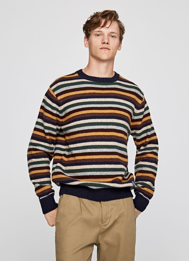 JERSEY PEPE JEANS ALAIN RAYAS MULTICOLOR
