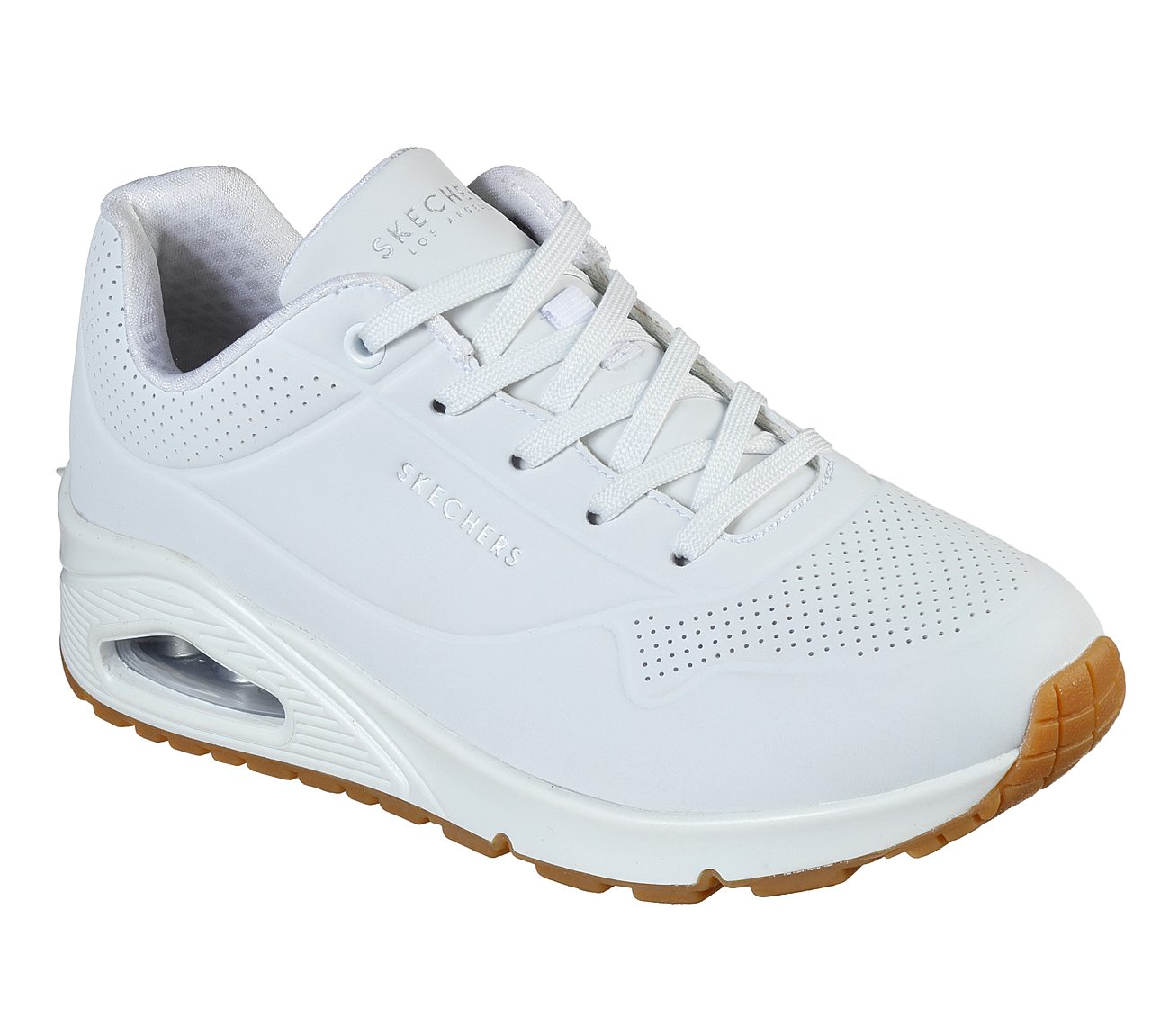 DEPORTIVO SKECHERS UNO-STAND BLANCO