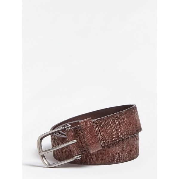 CINTURON GUESS MARRON