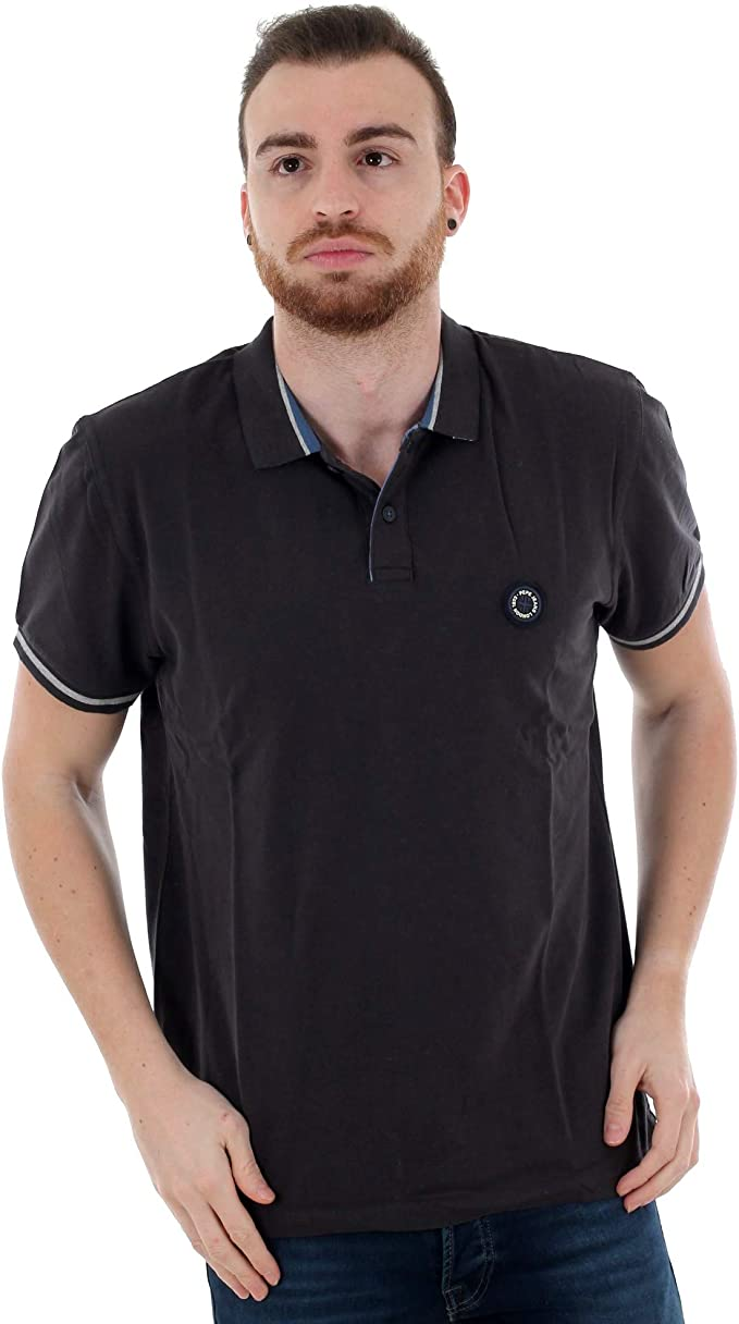 POLO TERENCE PEPE JEANS GRIS OSCURO