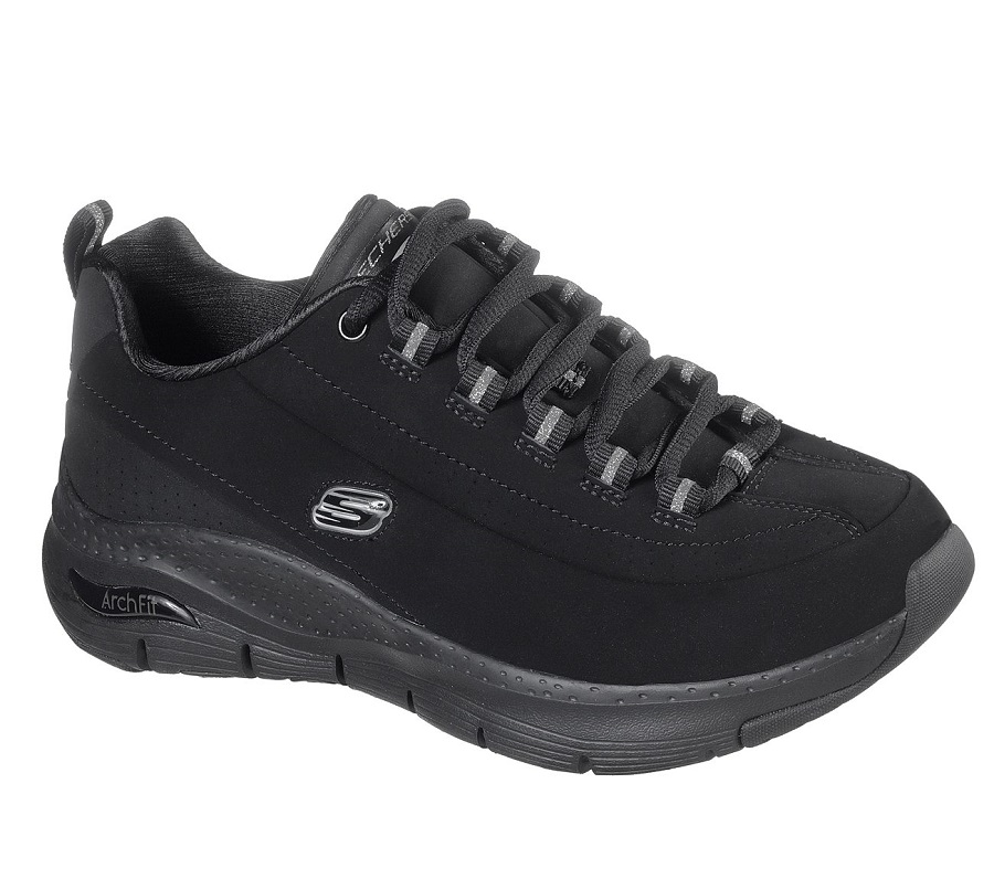 DEPORTIVO SKECHERS ARCH FIT  NEGRO
